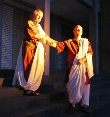 Brutus and Marc Antony