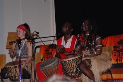 Schwarzafrikanische Rhythmen