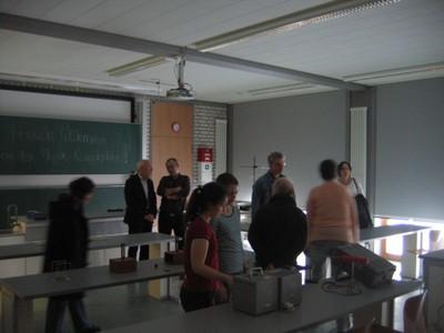 Klangobjekte im Physik-Labor
