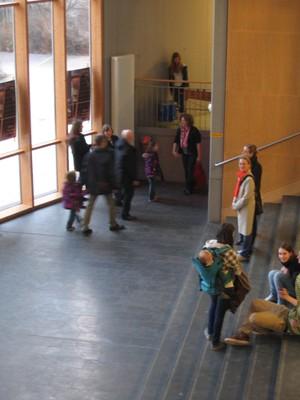 Publikum im Klangfoyer