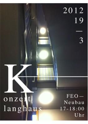 Klanghaus 2012 - Plakat 1