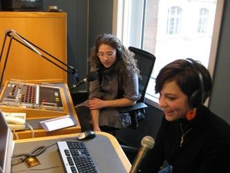 BBC radio studio