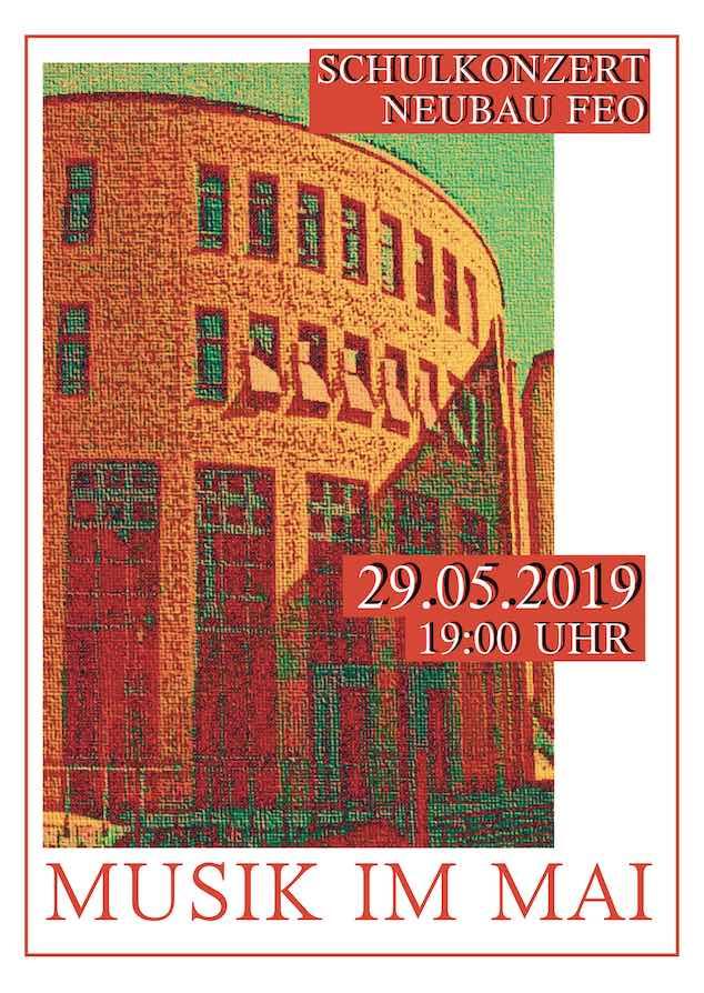 Plakat Musik im Mai 2019