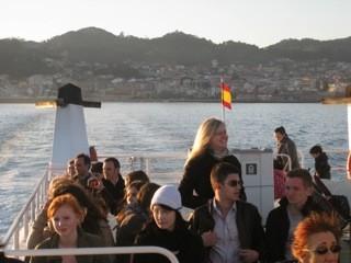 Überfahrt Vigo Cangas
